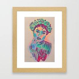 Spring in heard Framed Art Print