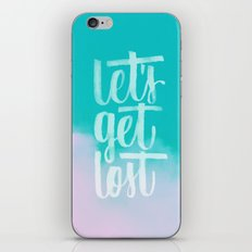 Let's Get Lost iPhone & iPod Skin
