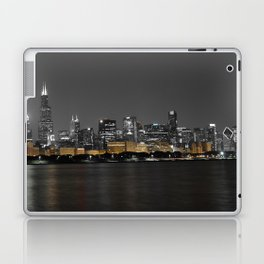 Chicago Silver and Gold Laptop & iPad Skin