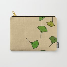 Ginkgo Leaves Carry-All Pouch