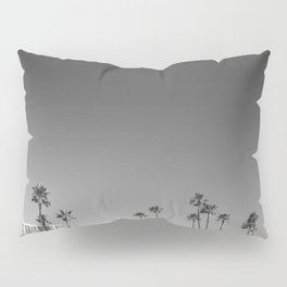 Palm Tree Beach Pillow Sham