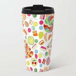 Rainbow candies Travel Mug