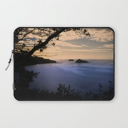 Thatchers Rock and Hope's Nose At Sunset Laptop Sleeve