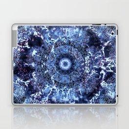 Iris Mandala Blue Laptop & iPad Skin
