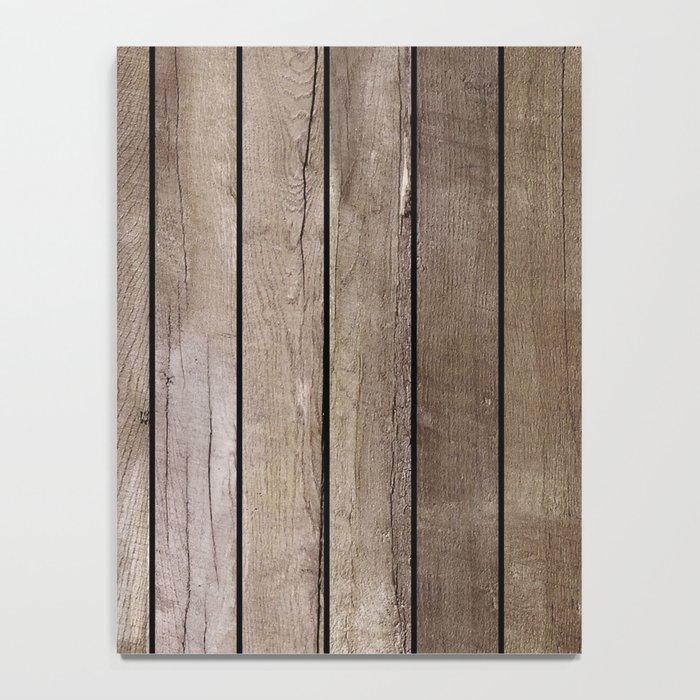 Wooden Texture Notebook