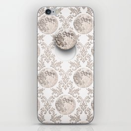 In which the moon frees itself  iPhone Skin