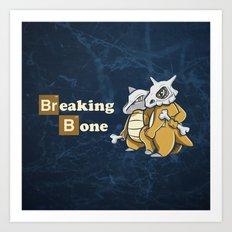 Breaking Bone Art Print