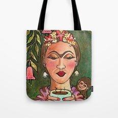 Frida's Hot Chocolate Tote Bag