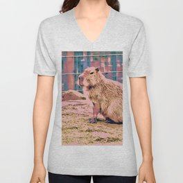 SmartMix Animal - capybara Unisex V-Neck