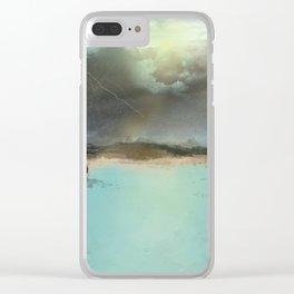 VIENE TORMENTA Clear iPhone Case