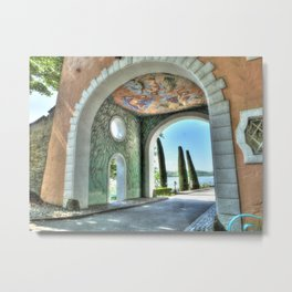 Archway to the Sea Metal Print
