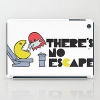 dentist iPad Cases featuring there's no escape by Vickn
