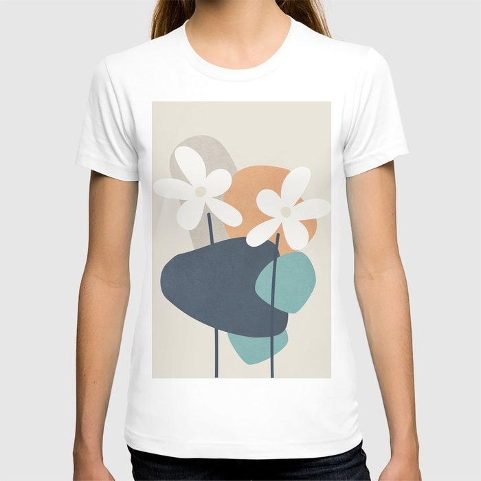 Abstract Flowers 3 T-shirt