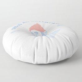 STEVE ZISSOU: THIS IS AN ADVENTURE Floor Pillow
