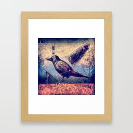Action + Inaction Framed Art Print