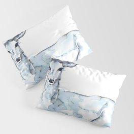 Deer Watercolor Sketch Pillow Sham