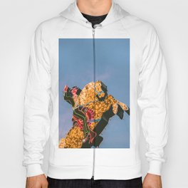Cowboy on Horse Neon Sign Hoody