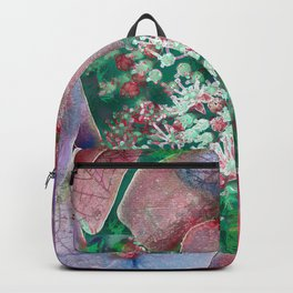Floral abstract 55 Backpack