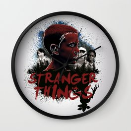 Eleven - Stranger Things Wall Clock