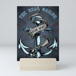 The Real Sailor, Ocean Spirit Mini Art Print