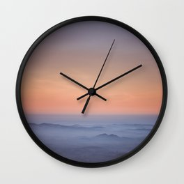 Evening pulse rate Wall Clock