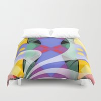 milky way Duvet Covers featuring Milky Way by Kristine Rae Hanning