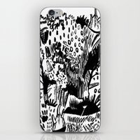 plants iPhone & iPod Skins featuring Plants by Bridie Cheeseman