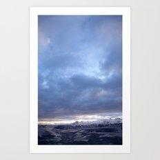 Austria Alps Art Print