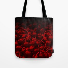 cherries pattern hvhddr Tote Bag