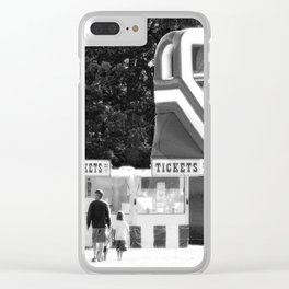 Father time photography Clear iPhone Case
