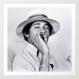 smoke weed everyday Art Print