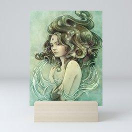 Zodiac Aquarius Mini Art Print