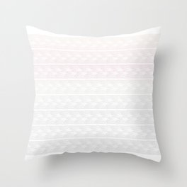 Ombre Pastel Lace Throw Pillow