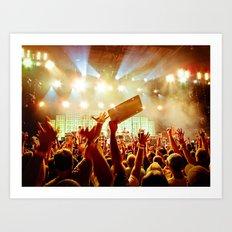 The Crowd at Pearl Jam 20 (PJ20) Art Print