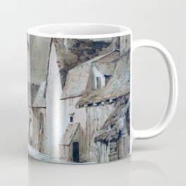Study Of Old Buildings - Digital Remastered Edition Coffee Mug