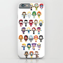 WOMEN WITH 'M' POWER iPhone Case