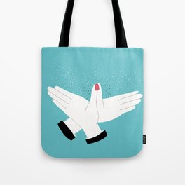 SHADOW PUPPETS Tote Bag