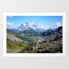 view of Mt. Shuksan Art Print