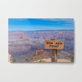 Ohh Ahh Point on South Kaibab Trail Metal Print