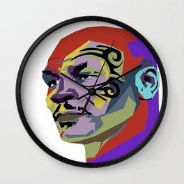 Mike Tyson Wall Clock