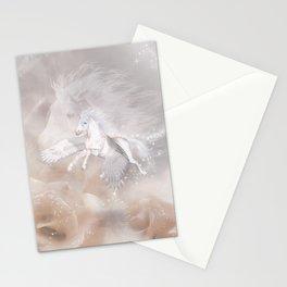 Flying Unicorn Stationery Cards