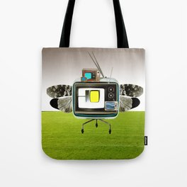 the truth is dead · the flying circus Tote Bag
