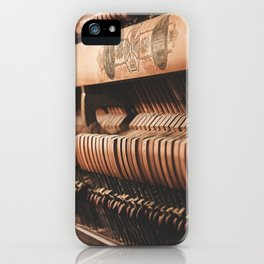 musical hammers iPhone Case