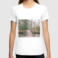 bridge T-shirts featuring Bridge by Golden Sabine