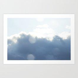 Almost summer sky Art Print