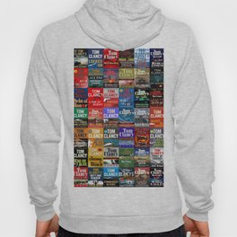Tom Clancy Books Hoody