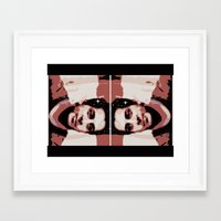 spaceman Framed Art Prints featuring Spaceman by ACUN