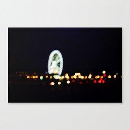 Roue de Paris Canvas Print
