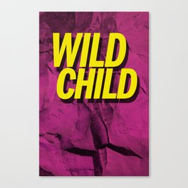 Wild Child Canvas Print
