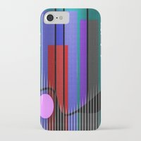 band iPhone & iPod Cases featuring Jazz Band by Kristine Rae Hanning